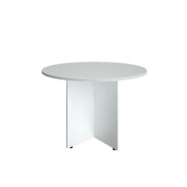Стол переговорный RIVA А.ПРГ-1 Белый D=1100х750, Цвет товара: Белый