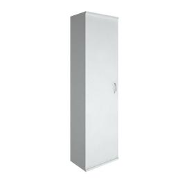 Гардероб для верхней одежды узкий (выдвижная вешалка,) RIVA А.ГБ-1 Белый 550х365х1980, Цвет товара: Белый