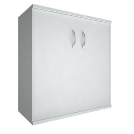 Шкаф для документов низкий широкий (2 низкие двери ЛДСП) RIVA А.СТ-3.1 Белый 770х365х828, Цвет товара: Белый
