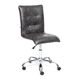 Компьютерное кресло «Zero» кож/зам, серый, 2 TONE TetChair, Цвет товара: Серый 2TONE