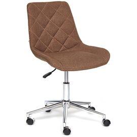Компьютерное кресло STYLE ткань, коричневый, F25 TetChair, Цвет товара: Коричневый