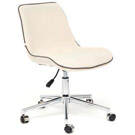 Компьютерное кресло STYLE флок , молочный, 4 TetChair, Цвет товара: молочный
