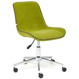 Компьютерное кресло STYLE флок , олива, 23 TetChair, Цвет товара: оливковый