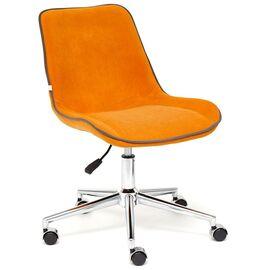 Компьютерное кресло STYLE флок , оранжевый, 18 TetChair, Цвет товара: Оранжевый