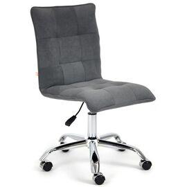 Компьютерное кресло «Zero» флок , серый, 29 TetChair, Цвет товара: Серый,тон 29