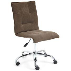 Компьютерное кресло «Zero» флок , коричневый, 6 TetChair, Цвет товара: Коричневый (6)