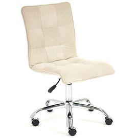 Компьютерное кресло «Zero» флок , бежевый, 7 TetChair, Цвет товара: Бежевый