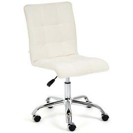 Компьютерное кресло «Zero» флок , молочный, 4 TetChair, Цвет товара: молочный