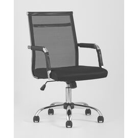 Компьютерное кресло TopChairs Clerk черноеStool Group