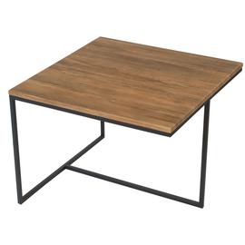 Журнальный стол Симпл Квадро Mebelik дуб американский 600х600х450
