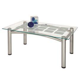 Стол журнальный Робер 3М Mebelik Металлик 900х550х430, Цвет товара: металлик