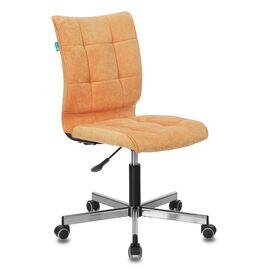 Компьютерное кресло Бюрократ CH-330M/VELV72 оранжевый Velvet 72 крестовина металл, Цвет товара: Оранжевый Velvet 72