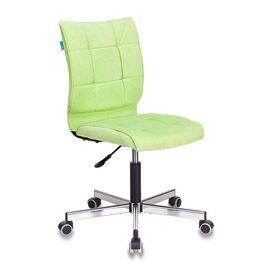 Компьютерное кресло Бюрократ CH-330M/VELV81 светло-салатовый Velvet 81 крестовина металл, Цвет товара: Салатовый Velvet 81