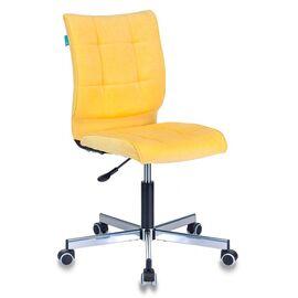 Компьютерное кресло Бюрократ CH-330M/VELV74 желтый Velvet 74 крестовина металл, Цвет товара: желтый Velvet 74