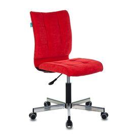 Компьютерное кресло Бюрократ CH-330M/VELV88 красный Velvet 88 крестовина металл, Цвет товара: красный Velvet 88