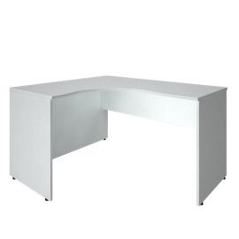 Стол эргономичный письменный левый RIVA А.СА-3Л Белый 1400х1200х755, Цвет товара: Белый