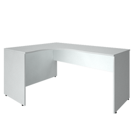 Стол эргономичный письменный левый RIVA А.СА-4Л Белый 1600х1200х755, Цвет товара: Белый