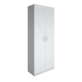 Шкаф для документов высокий широкий (2 высокие двери ЛДСП) RIVA А.СТ-1.9 Белый 770х365х1980, Цвет товара: Белый