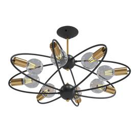 Потолочный светильник 0539CL-8BK Milosh