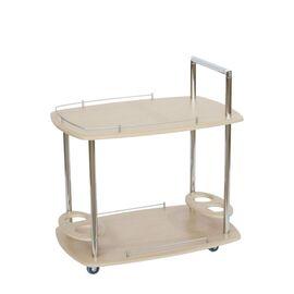 Стол сервировочный Банкет Mebelik Дуб беленый 760х500х780, Цвет товара: Дуб сонома светлый