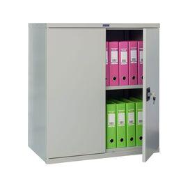 Архивный шкаф для офиса ПРАКТИК СВ-13, Цвет товара: Серый