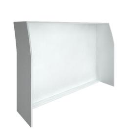 Стойка ресепшен прямая RIVA 1600 А.РС-4 Белый 1644х506х1150, Цвет товара: Белый