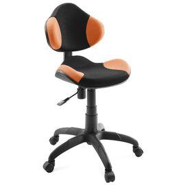 Компьютерное кресло для детской комнаты Dikline KD32 Оранжевый, Цвет товара: Оранжевый