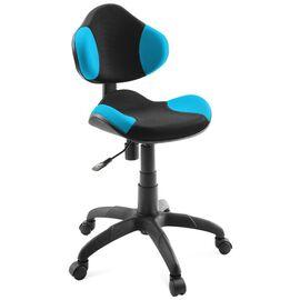 Компьютерное кресло для детской комнаты Dikline KD32 Голубой, Цвет товара: Голубой