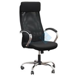 Компьютерное кресло для руководителя Dikline SN17 Чёрное