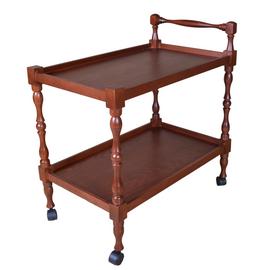 Стол сервировочный Бридж Mebelik Средне-коричневый 700х420х730, Цвет товара: Средне-коричневый