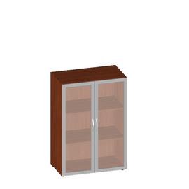Шкаф для документов широкий средний с матовым стеклом Консул арт. KN-5.4 800х430х1177