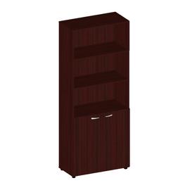 Шкаф для документов высокий широкий с низкими дверьми Милан-люкс арт. ML-2.0.2 812х394х2010
