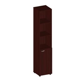 Шкаф для документов высокий узкий с низкой дверью Милан-люкс арт. ML-2.1.2 406х394х2010