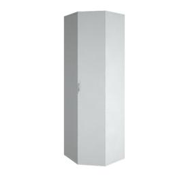 Гардероб для верхней одежды угловой (выдвижная вешалка ) RIVA А.ГБ-3 Белый 600х600х1980, Цвет товара: Белый