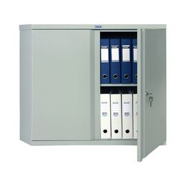 Архивный шкаф для офиса ПРАКТИК AM 0891, Цвет товара: Серый