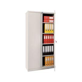 Архивный шкаф для офиса ПРАКТИК М 18, Цвет товара: Серый