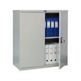 Архивный шкаф для офиса ПРАКТИК СВ-21, Цвет товара: Серый