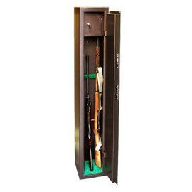 Оружейный сейф для оружия на 3 ружья КО - 036Т, Цвет товара: Медный антик, порошковое полимерное покрытие