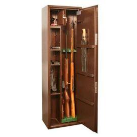 Оружейный сейф для оружия на 3 ружья КО - 038Т, Цвет товара: Медный антик, порошковое полимерное покрытие