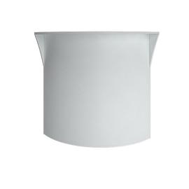 Стойка угловая (радиусный элемент - ХДФ) RIVA А.РС-5 Белый 950х950х1150, Цвет товара: Белый