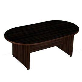 Стол переговорный в кабинет руководителя Статус арт. C-1.2 2400х1200х750, Цвет товара: Венге