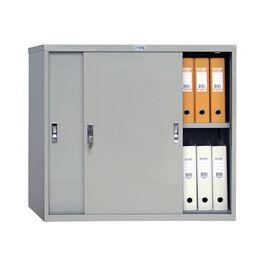 Архивный шкаф для офиса ПРАКТИК AMT 0891, Цвет товара: Серый