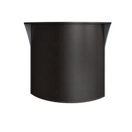 Стойка угловая (радиусный элемент - ХДФ) RIVA А.РС-5 Венге Металлик 950х950х1150, Цвет товара: Венге металлик