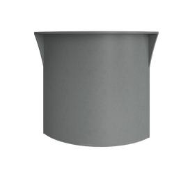 Стойка угловая (радиусный элемент - ХДФ) RIVA А.РС-5 Серый 950х950х1150, Цвет товара: Серый
