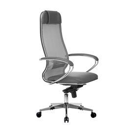 Компьютерное кресло для руководителя Samurai Comfort-1.01 Светло-серый, Цвет товара: светло-серый