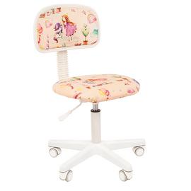 Компьютерное кресло для детской комнаты Chairman Kids 101 (Принцесса), Цвет товара: Принцессы