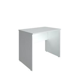 Стол прямой письменный RIVA А.СП-1.1 Белый 900х600х750, Цвет товара: Белый