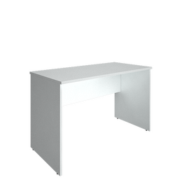 Стол прямой письменный RIVA А.СП-2.1 Белый 1200х600х750, Цвет товара: Белый