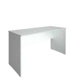 Стол прямой письменный RIVA А.СП-3.1 Белый 1400х600х750, Цвет товара: Белый