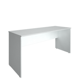 Стол прямой письменный RIVA А.СП-4.1 Белый 1600х600х750, Цвет товара: Белый